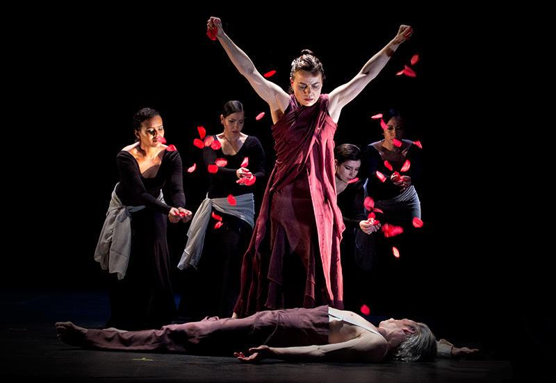 """Antigona"" from Noche Flamenca at Z Space"