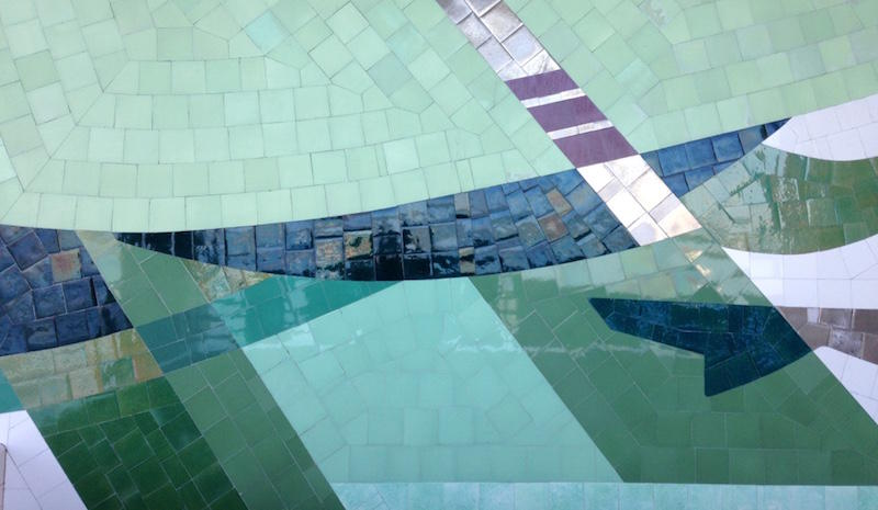 This Sunday, take a tour of Sargent Claude Johnson's mosaic works at the San Francisco Maritime Park.