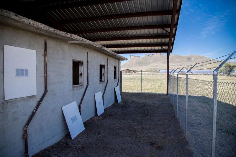 One of the few remaining structures at the Tule Lake Segregation Center, the jail, was built in 1944.