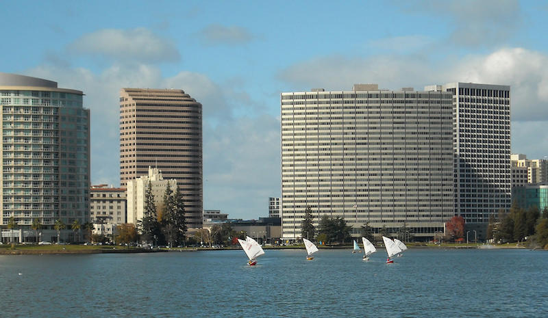 """Sailboats on Lake Merritt"" by Flickr user Daniel Ramirez. Used under CC BY 2.0."