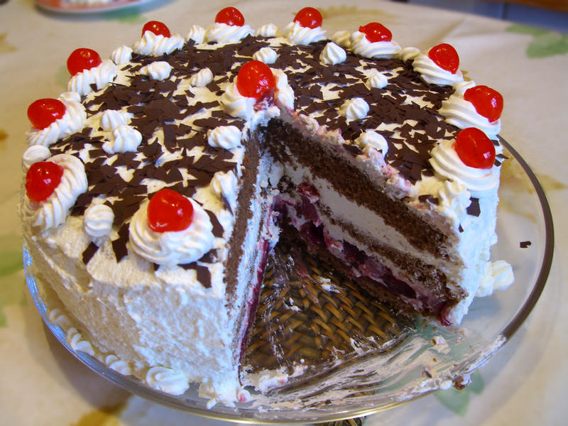 It's Black Forest Cake Day!  Yum...