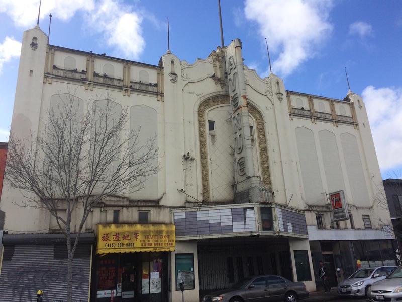 The Avenue Theater in San Francisco's Portola District