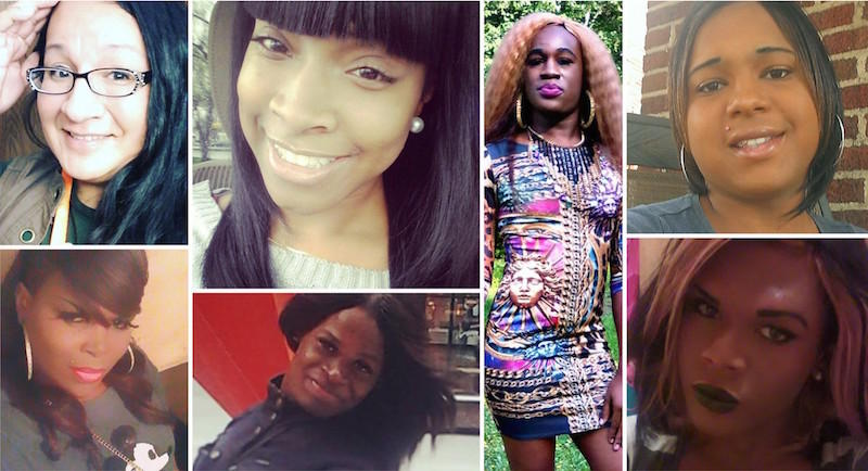 Seven transgender women of color killed in 2017