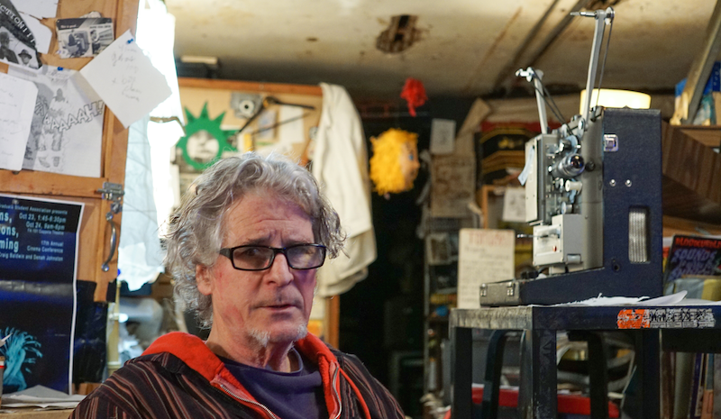 Filmmaker Craig Baldwin lived at the iconic Project One, which introduced warehouse living to the Bay Area.