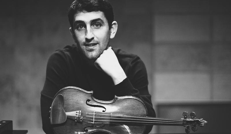 Violinist Patrick Galvin