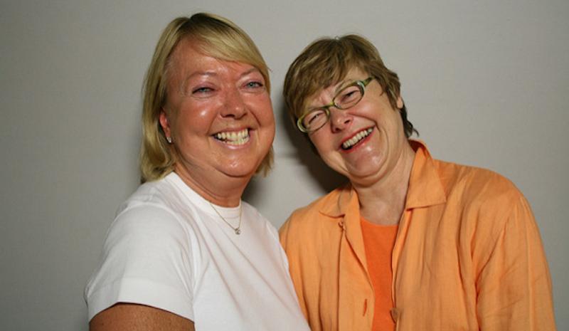 Patricia Fodor and Diane Daniels.