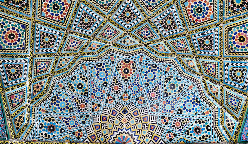 Mosque Ceiling by Flickr user Pentocelo, aka dynamosquito. Used under CC BY-SA 2.0.