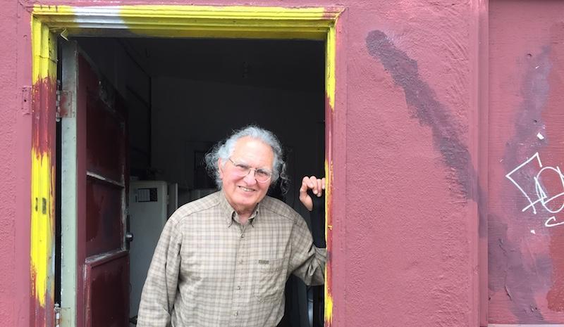 Harry Yaglijian in the doorway at Original Kasper's