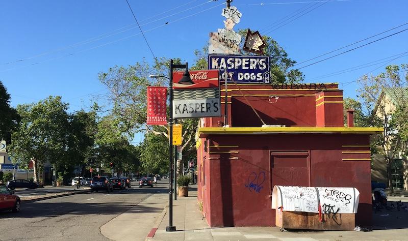 Original Kasper's from Telegraph Avenue