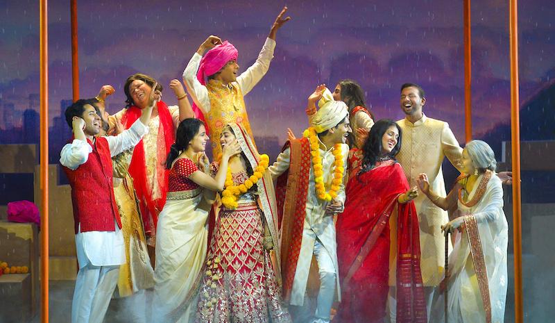 The ensemble cast of Monsoon Wedding