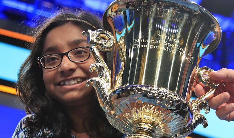 12 year old Ananya Vinay