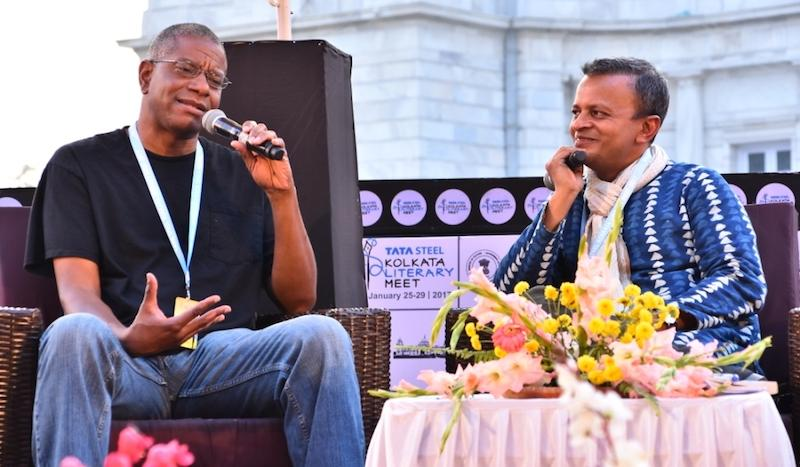 Paul Beatty in conversation with Sandip Roy at the Kolkata Literary Meet