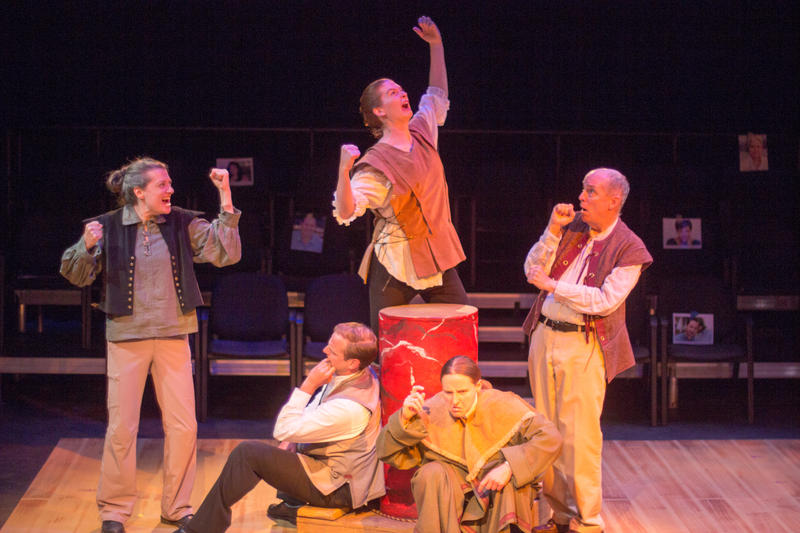 """Pear Theatre in Mountain View presents 'What You Will' - a """"Shakespearean travesty""""…"""