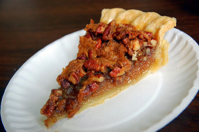"Pecan Pie! taken by flickr user Steve Snodgrass, who says, ""I have been informed that PEE-cans are for long road trips and puh-KAHNs are nuts."" Taken at Shrine Mont Orkney Springs Virginia"