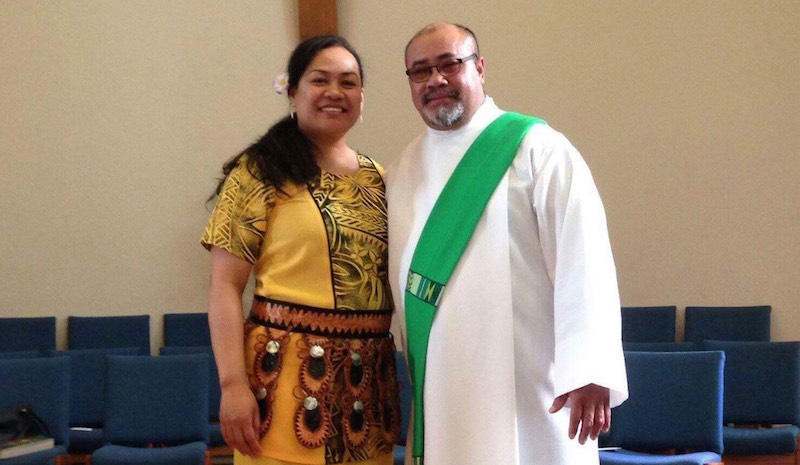 Lochlein Sekona is the deacon of St. John the Baptist in El Cerrito, CA.