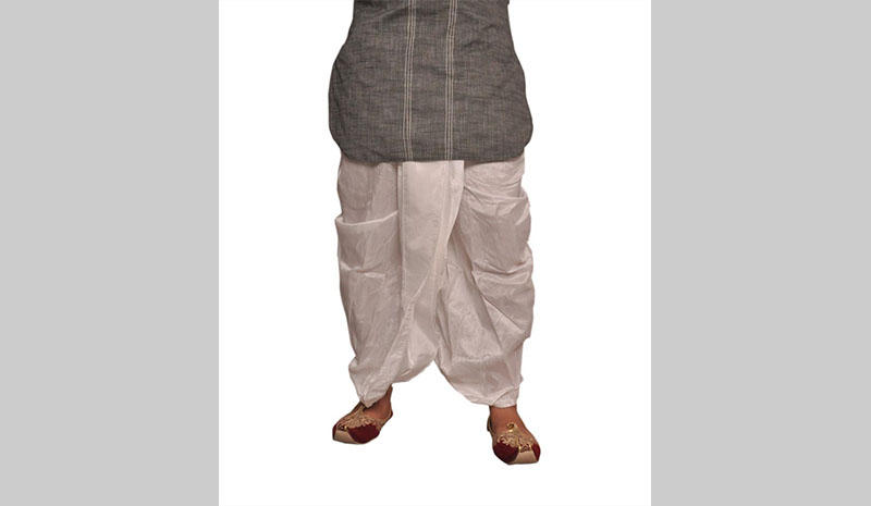 A typical Dhoti