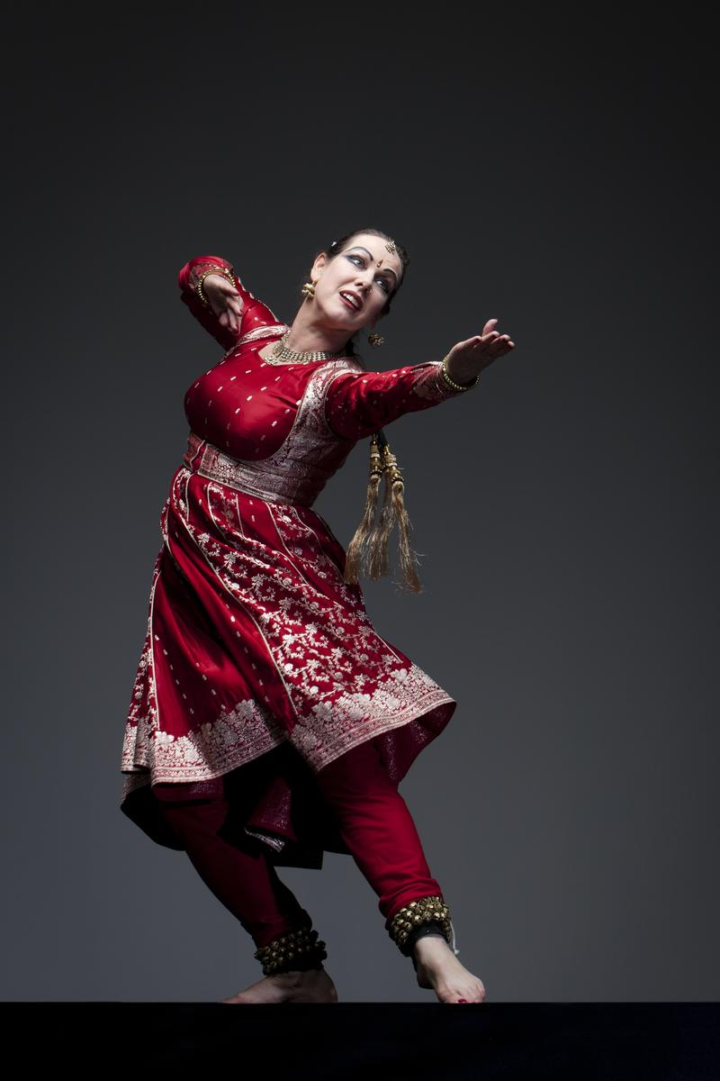 Charlotte Moraga in 'The Art of Kathak', this weekend at Z Space in San Francisco…