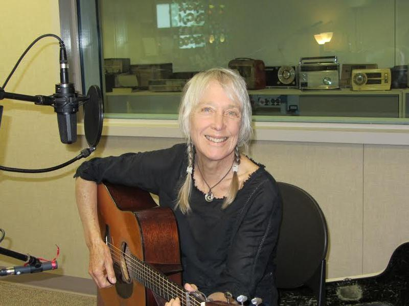 Laurie Lewis, in KALW's Studio A