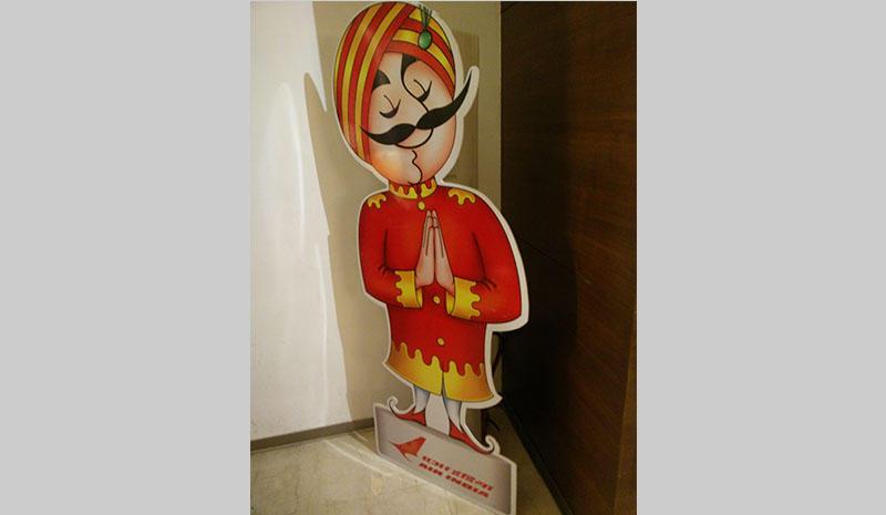 Air India's Mascot