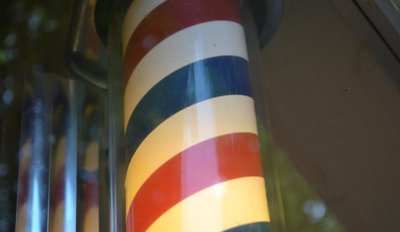 """Barber Pole"" by CC Flickr Brad Wilmot, resized and recropped"