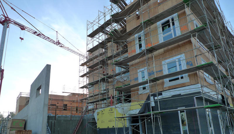 West Sacramento affordable housing construction