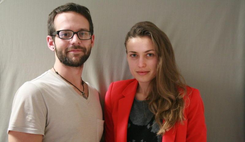 William Lenhart with  Vira Trachuk