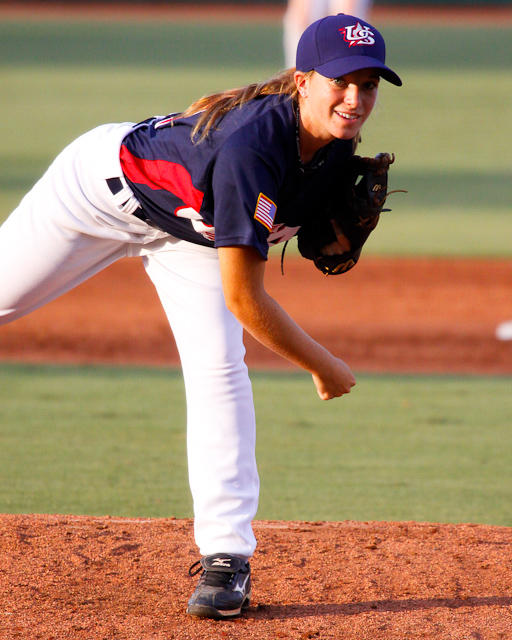 USA Baseball WNT vs Australia Game 1 Aug 6, 2010  USA Baseball 2010 Women's National Team VS Australia, National Training Complex, Cary by flickr user Karl Fisher