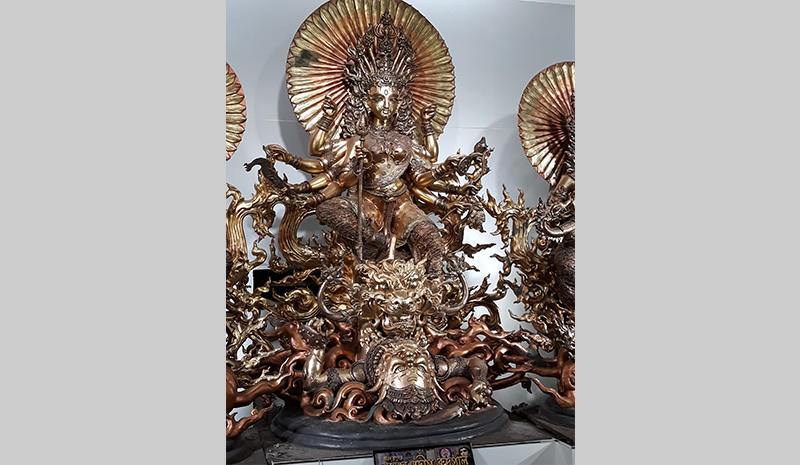 A Durga shrine