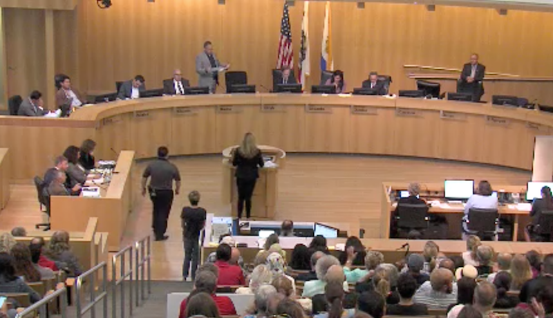 Residents testify at San Jose City Council meeting