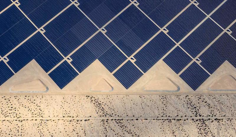 Desert Sunlight where 8 million solar panels power 160, 000 California homes
