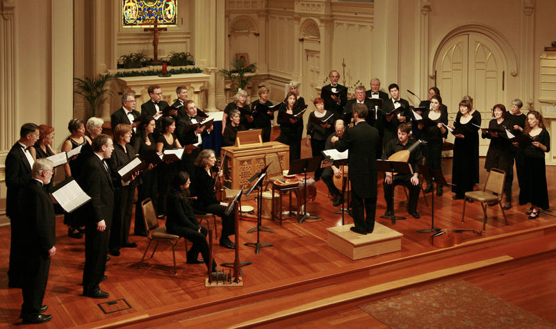 The California Bach Society in concert…