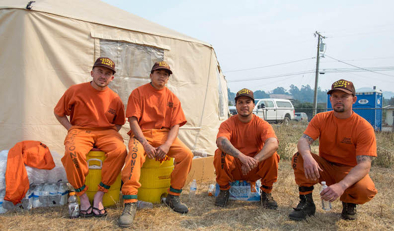 Anthony Torpey, Phillip Estorga, Junior Rios and Solomon Schumaker are just a few of the men fighting California's wildfires