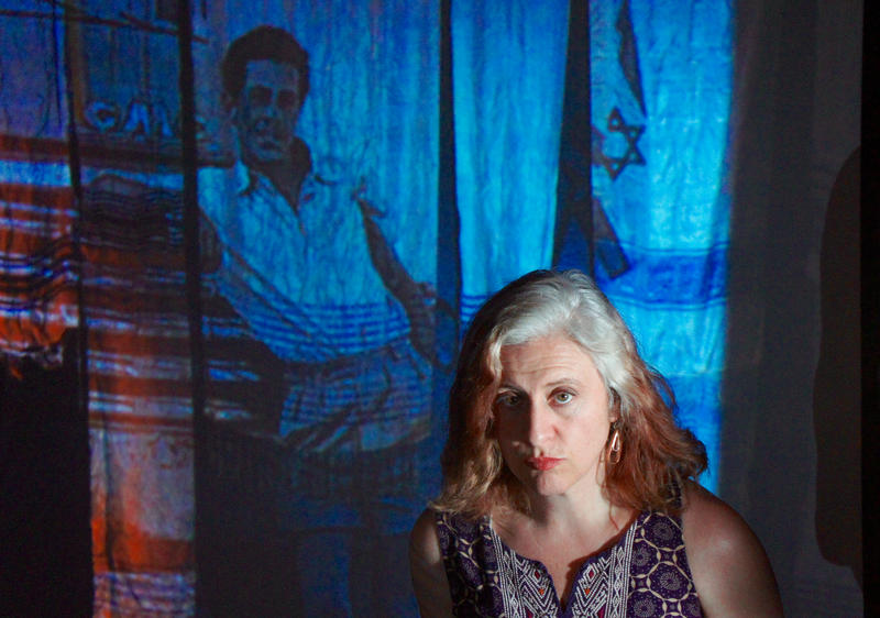 Deborah Eliezer in 'Displaced', part of the double bill 'Role Call', presented by FoolsFURY...