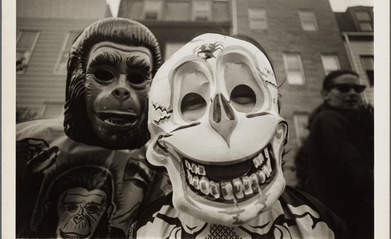 """[Skeleton and Ape]"" 1974 - 1978."