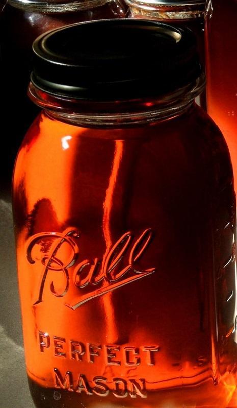 Homemade Maple Syrup, taken by flickr user John Lillis