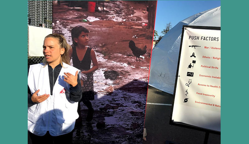 """Christina Psarra of """"Doctors Without Borders"""""""