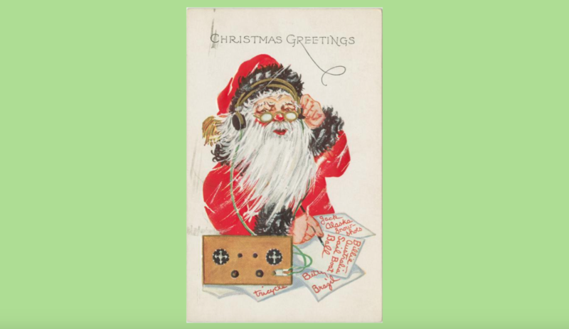 At 'The Spot', we like to believe that Santa wears headphones while he works.