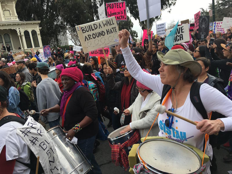 Women's March 2017 in Oakland, CA