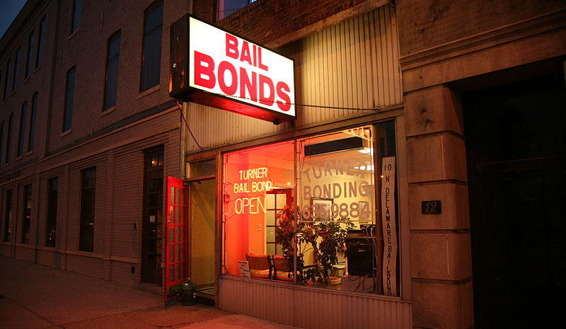 A bail bond agency in Indianapolis