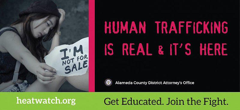 The Alameda County District Attorney's Office has been working aggressively to educate the public about child sexual exploitation