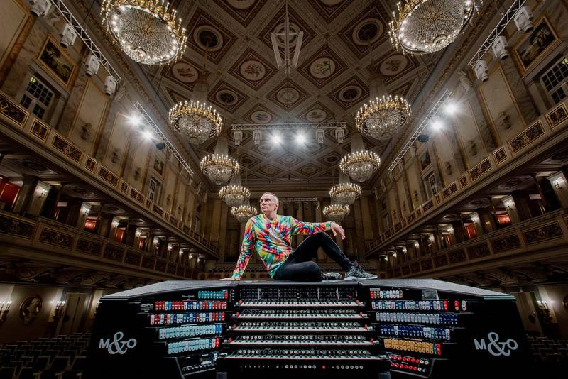 Organ virtuoso Cameron Carpenter and his digital, custom-built International Touring Organ…