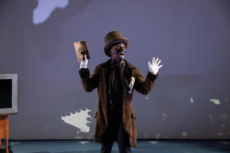 Frank Lawson as Ben Vereen in 'Until, Until, Until…', by Edgar Arcenaux; February 22-24 at YBCA in San Francisco…