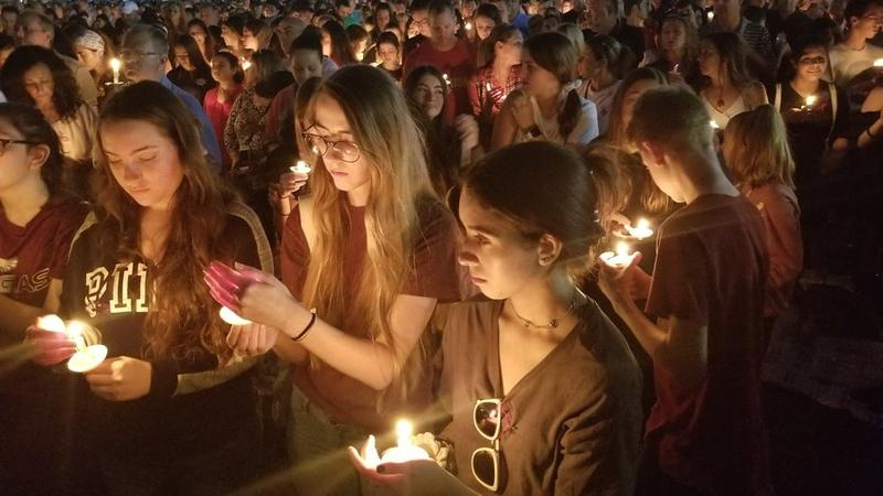 A week ago, kids in Parkland, Fla., were talking about prom and graduation. Now they're talking about funerals and gun control. Some students say the shooting that left 17 people dead will be a catalyst for different gun laws