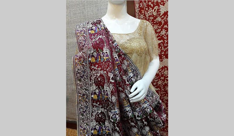 A Parsee sari