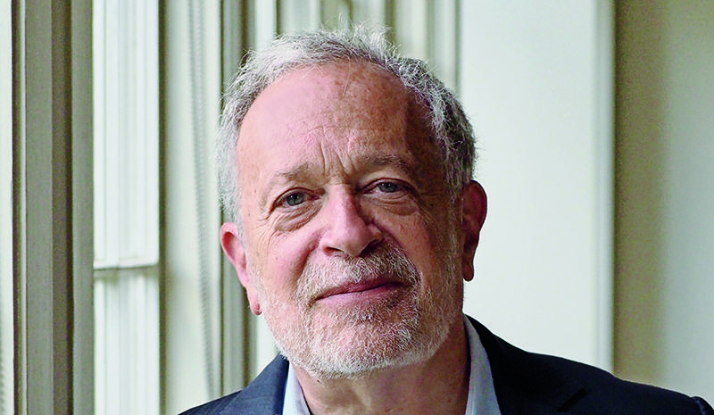 Robert Reich speaking at the Santa Rosa Unitarian Church (Glaser Center), February 25, 2013.