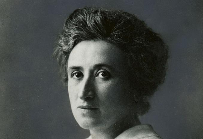 Happy Birthday, Rosa Luxemburg. Taken by flickr user Bo_Mar