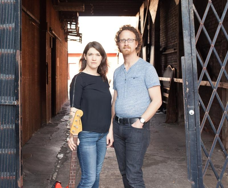 Kate Kilbane and Dan Moses, of the Oakland-based, theatrical rock band The Kilbanes, through March 18 at Z Space in SF with the rock opera 'Weightless'…