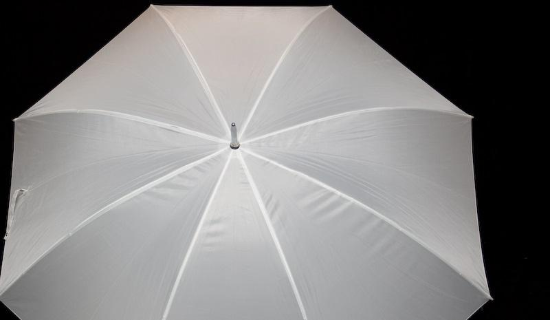 Open Umbrella taken by flickr user Achim Schrepfer