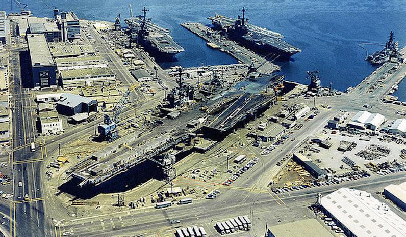 Hunters Point Naval Shipyard, 1972