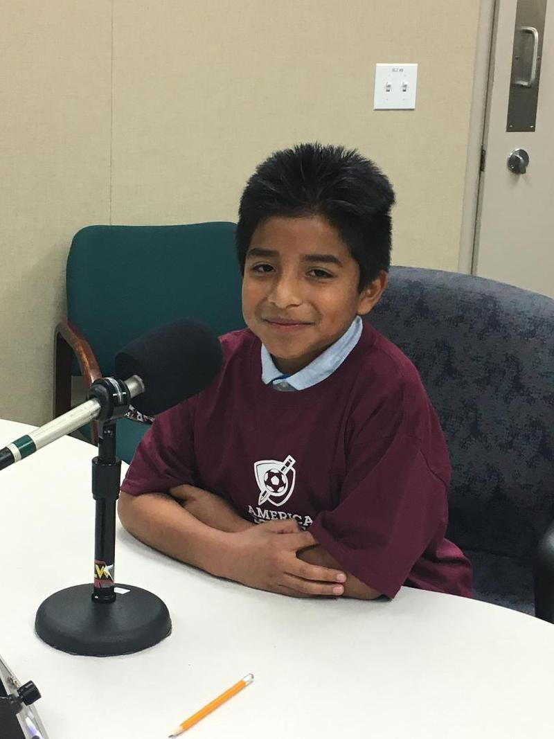 Johnny Rodriguez, a student at E R Taylor School in San Francisco. (AmericaScores)
